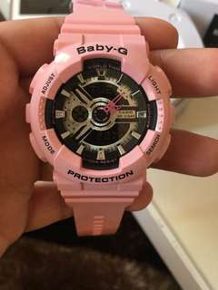 BABYG PINK WATCH
