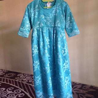 Blue turqoise dress