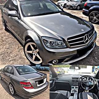 SAMBUNG BAYAR / CONTINUE LOAN  MERCEDES BENZ C200K W204 AUTO HIGH SPEC
