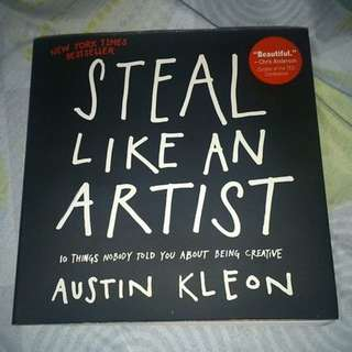 Steal Like An Artist - Austin Kleon book