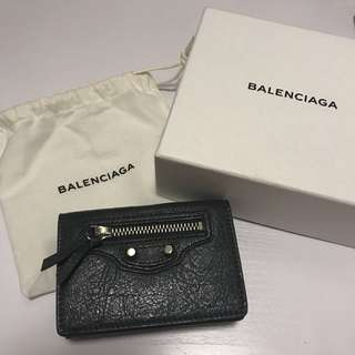 [全新] Balenciaga Classic City Mini Waller