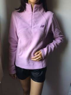 purple sweater/jacket/hoodie New Balance