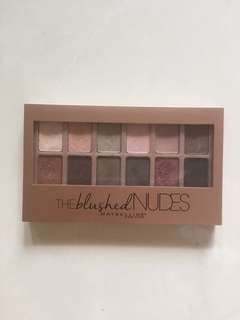 the blushed nudes maybelline eyeshadow palette