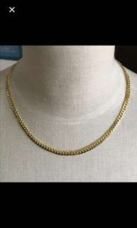 "22K/916 Yellow Gold {Women's Jewelry - Gold Necklace} 金是永恆 Solid 22K/916 Gold Gorgeous Unisex 18"" Yellow Gold Necklace"