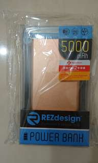 REZdesign Power Bank 5000mAh