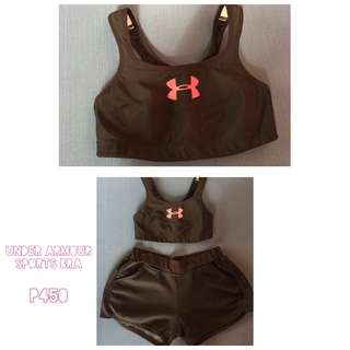 REPRICED! Underarmour black sports bra