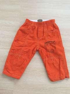 Timberland Orange Long Pants