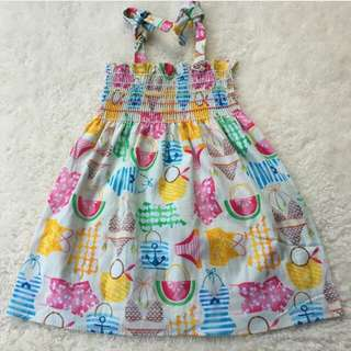 Smocked top/dress