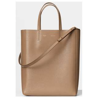 Celine Small Cabas Bag in Calfskin Liege