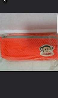 Brand New Mr Paul Pencil Case Orange Colour