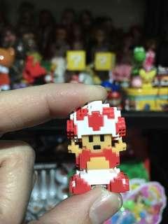 Mushroom of mariobros 3d figure