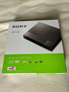 Sony DVD / Blu-ray Player BDP-S1500