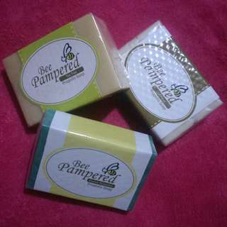 Bee Pampered Propolis Soaps in 3 variants