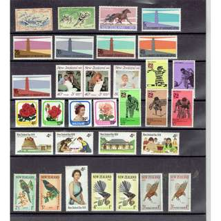 Ref NZ 01    New  Zealland  Mint Stamps as in picture