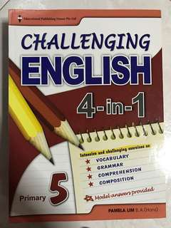 English Assessment Book - Primary 5
