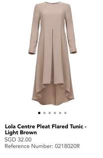 <BNWT>Lola Centre Pleat Flared Tunic