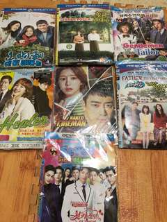 Dvd drama korea Rp.2.000 per keping disc