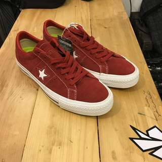 Converse One Star Pro Red Suede