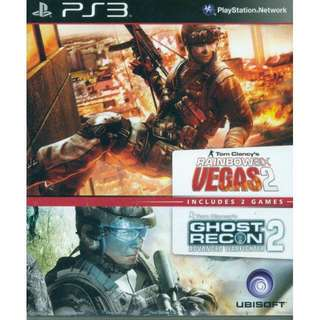 Rainbow Six2 & Ghost Recon2 PS3