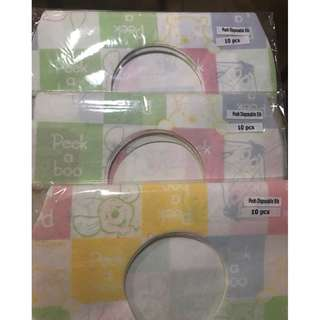 Disposable Bibs (30 pcs)