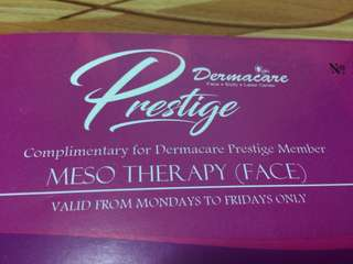 MESOTHERAPHY FOR FACE