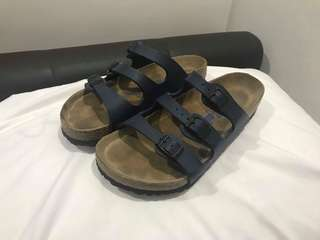 Birkenstock Florida navy blue