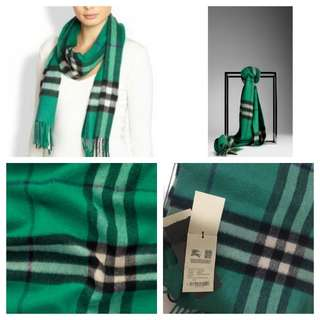 BNWT Authentic Burberry Cashmere Scarf