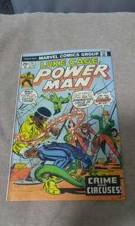 Bronze Age Marvel Comics Luke Cage Power Man