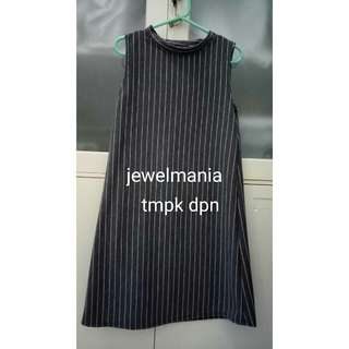 DRESS STRIPE GREY