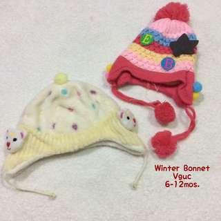 Preloved Baby Bonnets