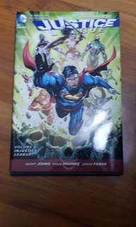 DC Comics Justice League the new 52