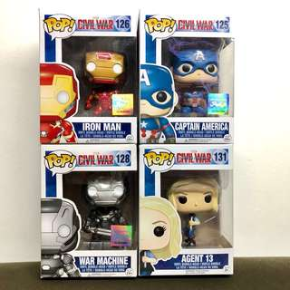 Marvel Captain America CW Funko Pop!