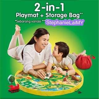 Dugro 2 in 1 Play Mat + Storage Bag