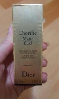 Dior diorific matte fluid
