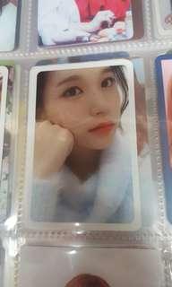Twicetagram Mina小卡