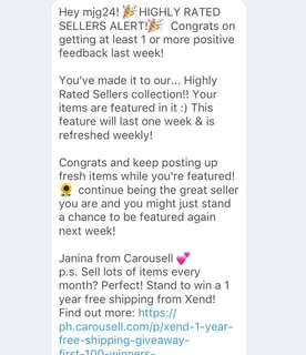 Thank you carousell!