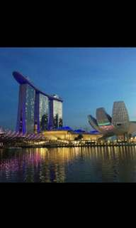 2 x A night staycation at MBS on 23rd June 2018