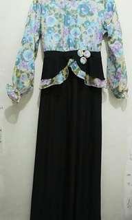 LONG DRESS MUSLIMAH MURAH (FREE ONGKIR)