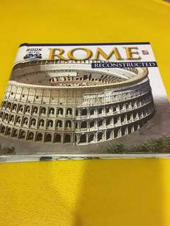 Rome Reconstructed. Book with dvd