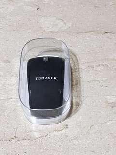 BNIB wireless Mouse Temasek black 2.4Ghz