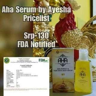 Aha serum