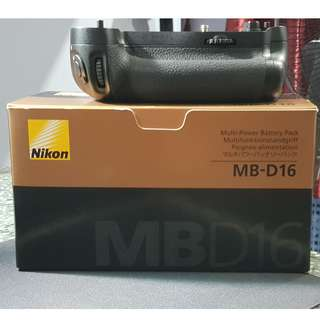 Nikon MB-D16 Multi Battery Power Pack[Nikon D750 Battery grip]
