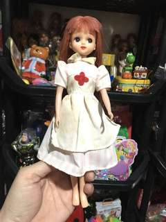 Red haired tomy doll 2 from japan