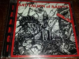 Music CD: Battalion Of Saints ‎– Second Coming / Live At CBGB's 1984 - Cult U.S. Hardcore / Punk, Speed Metal