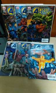 Marvel limited series Fantastic Four First Family 6 issues set. 2006.
