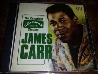 Music CD: James Carr–The Complete Goldwax Singles - Classic Soul