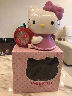 🚚 Hello kitty 淑女蘋果音樂鬧鐘