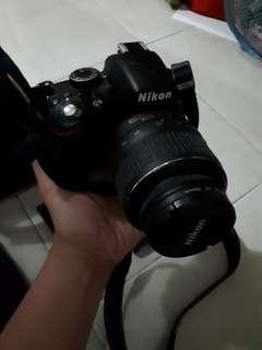 Kamera nikon d3200 (free tas ransel untum kamera)