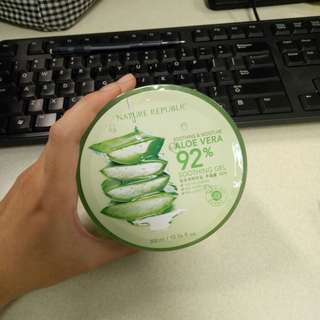 Nature Republic Aloe Vera Gel 92% Soothing Gel Original BPOM