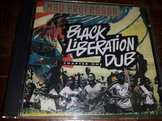 Music CD: Mad Professor ‎– Black Liberation Dub - Dub, Reggae